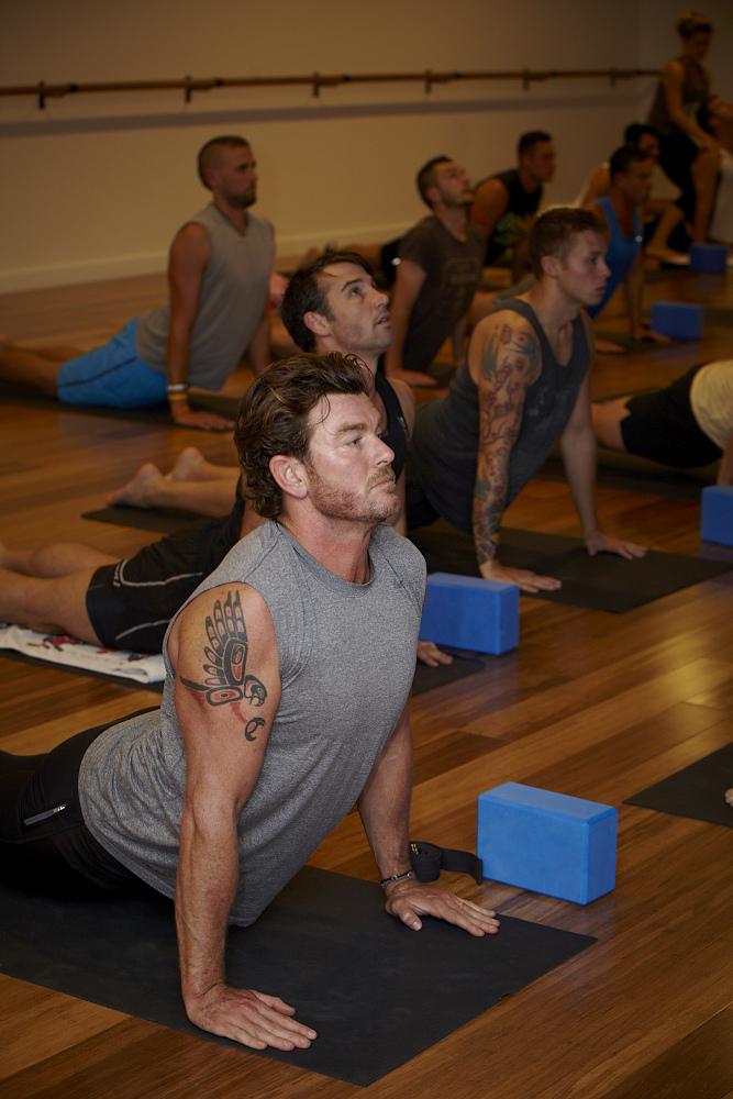 'Broga' (yoga for men)